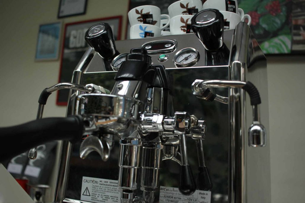 BFC junior dvojbojlerovy espresso kavovar