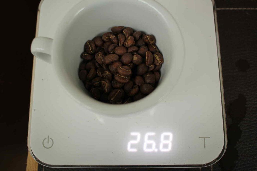 zrnka kavy z kene ndimaini