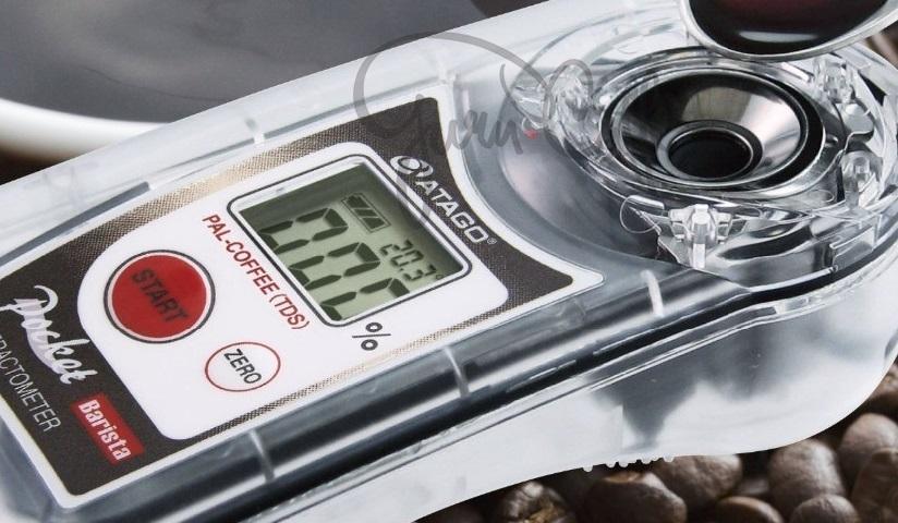 espresso kontrola refraktometrom bratislava nitra banska bystrica